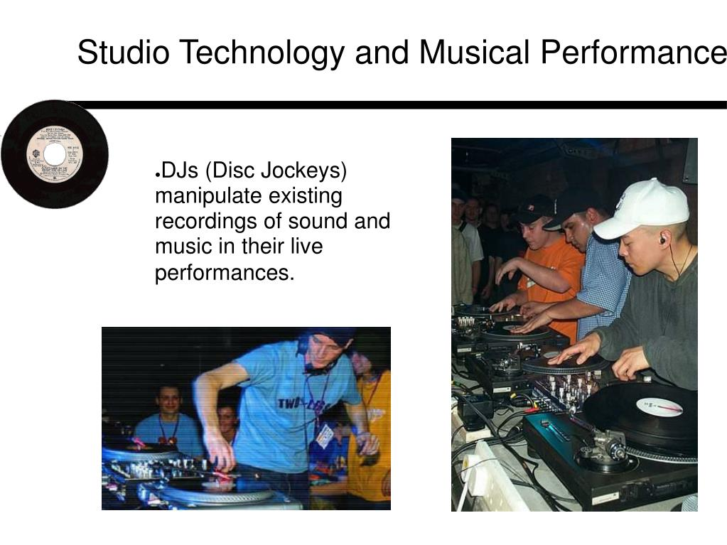 Studio Technology and Musical Performance