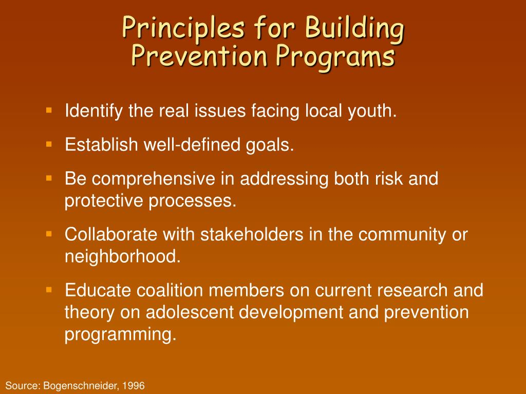 Principles for Building