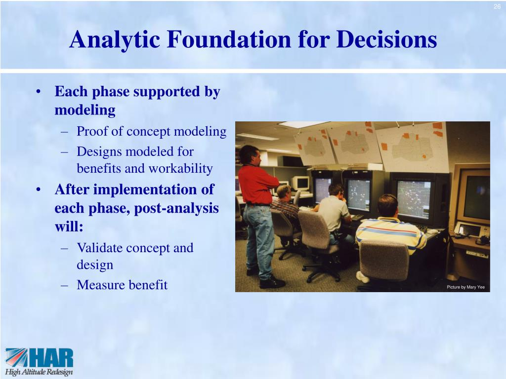 Analytic Foundation for Decisions