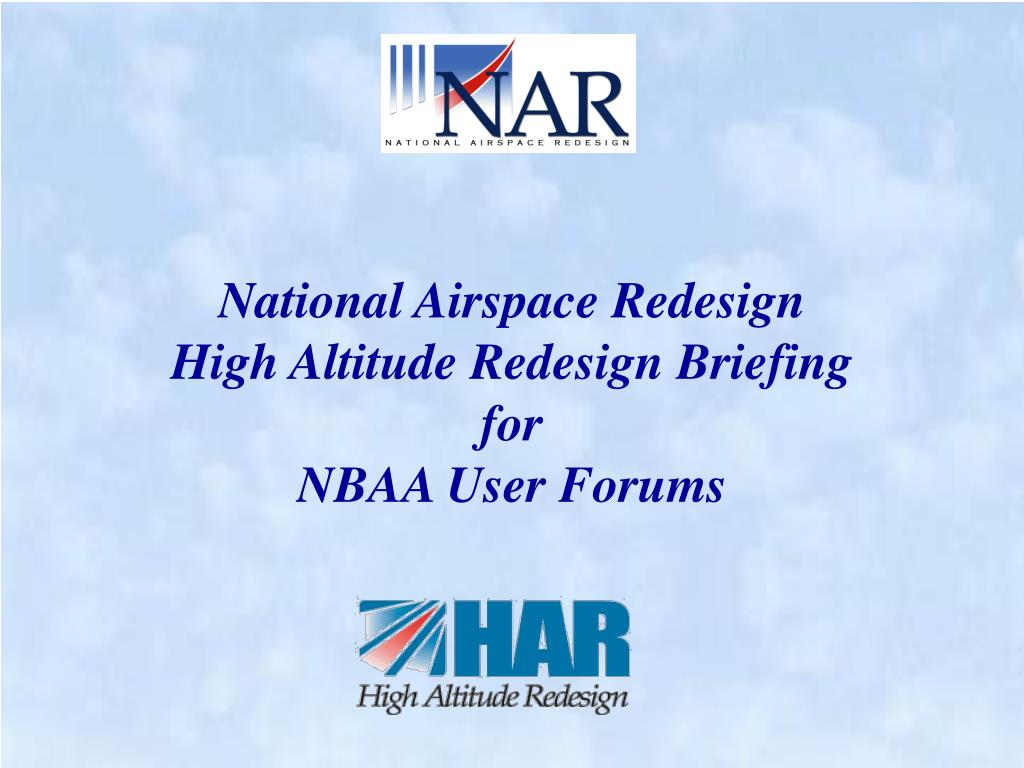 National Airspace Redesign