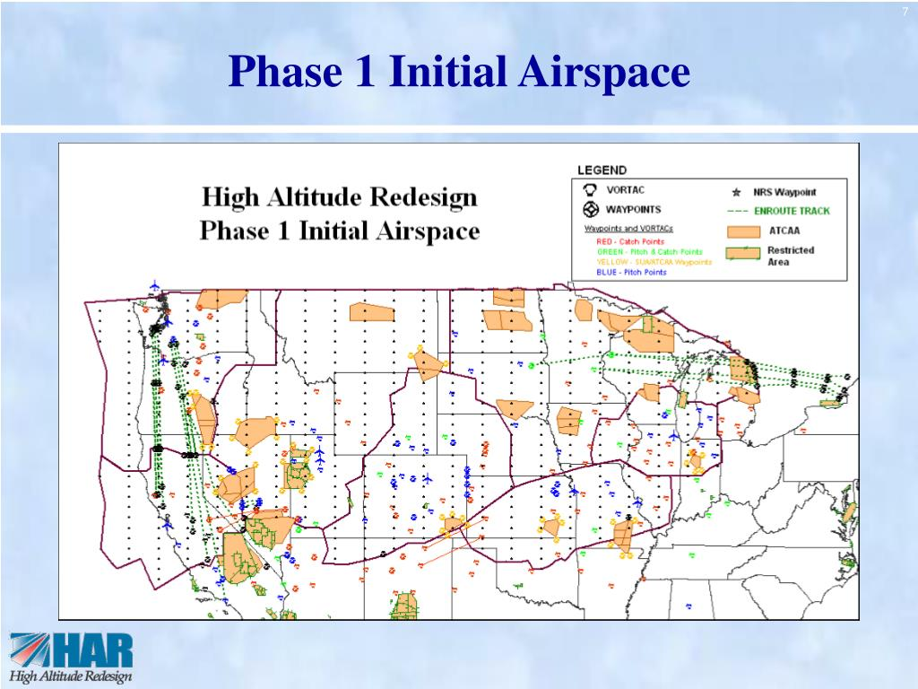 Phase 1 Initial Airspace