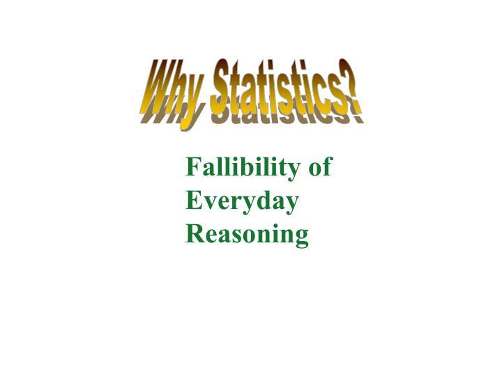 Why Statistics?