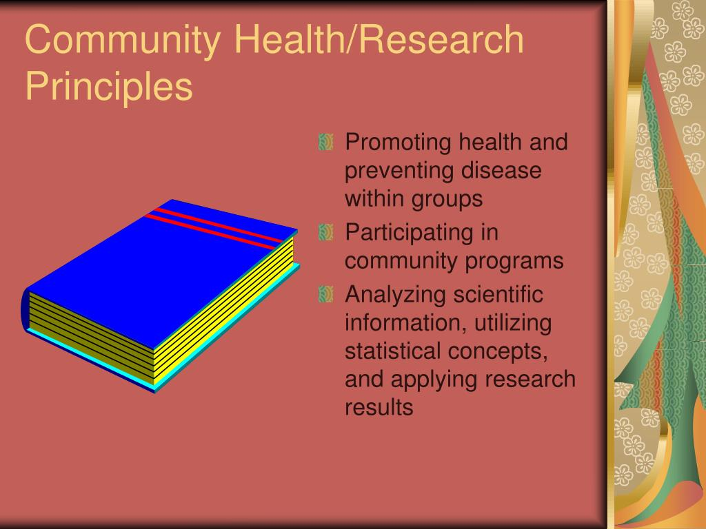Community Health/Research Principles