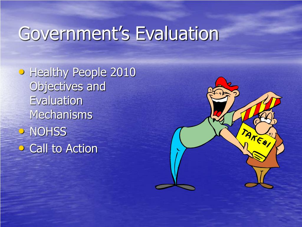 Government's Evaluation