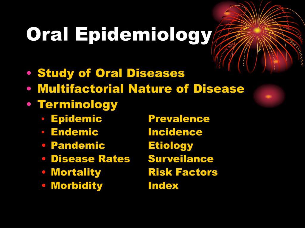 Oral Epidemiology