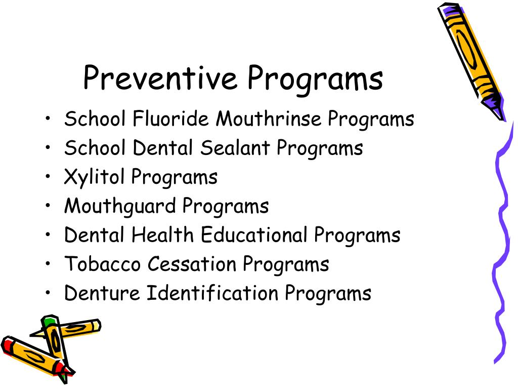 Preventive Programs