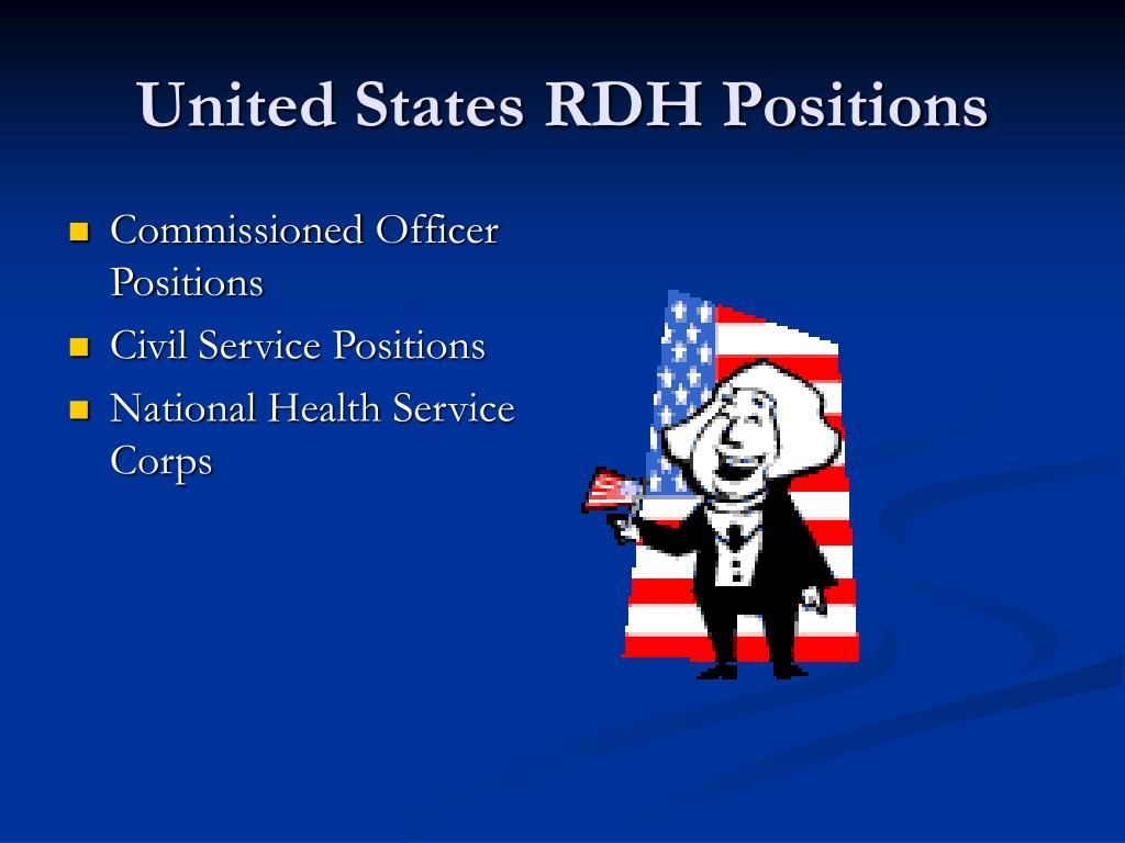 United States RDH Positions