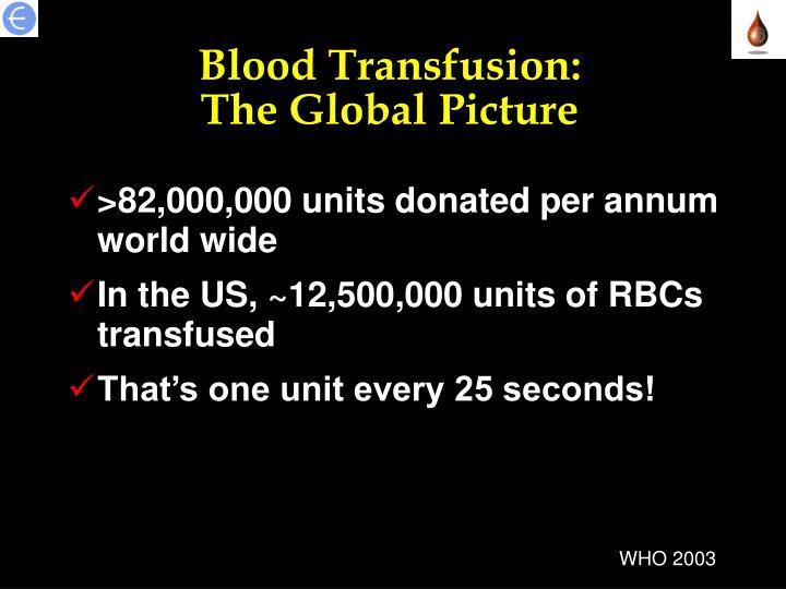 Blood Transfusion: