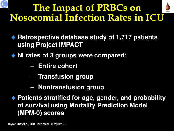 The Impact of PRBCs on
