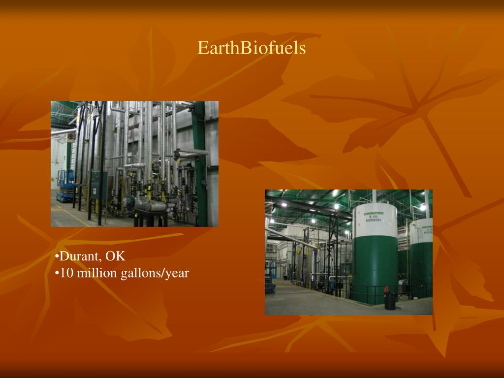 EarthBiofuels