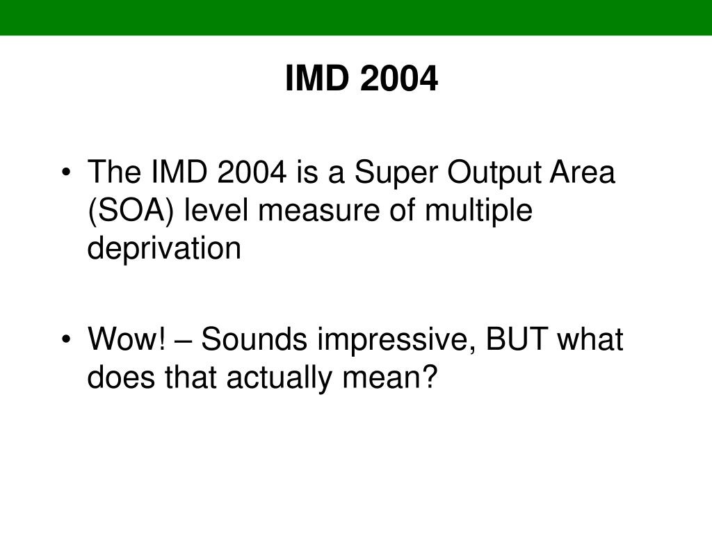 IMD 2004