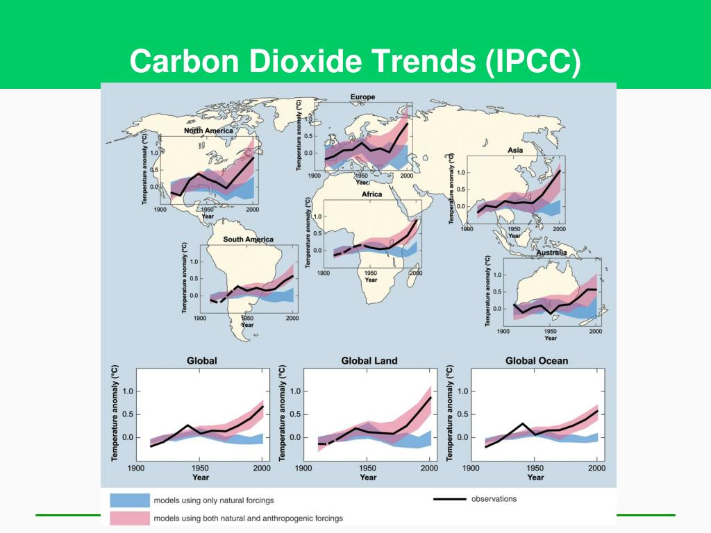 Carbon Dioxide Trends (IPCC)