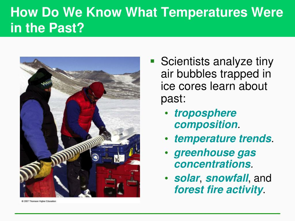 How Do We Know What Temperatures Were in the Past?