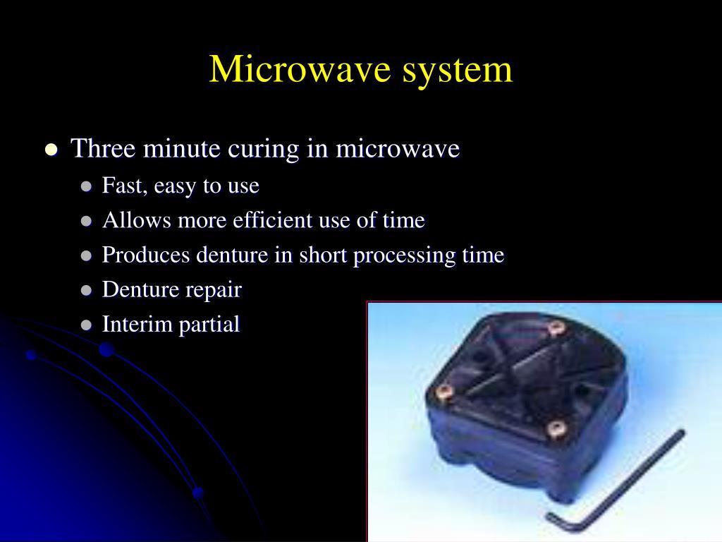 Microwave system