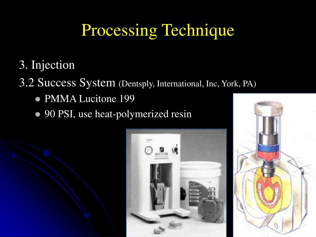 Processing Technique