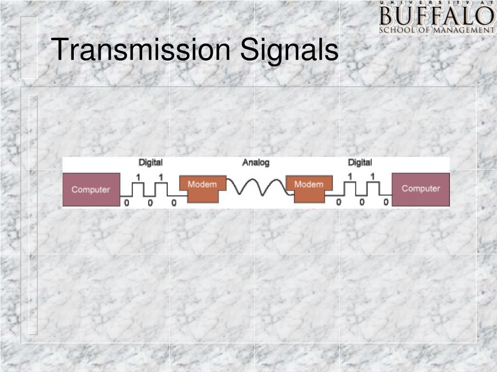 Transmission Signals