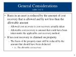 general considerations slide 1 of 3