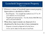 leasehold improvement property slide 1 of 2