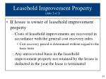 leasehold improvement property slide 2 of 2
