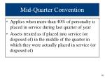 mid quarter convention