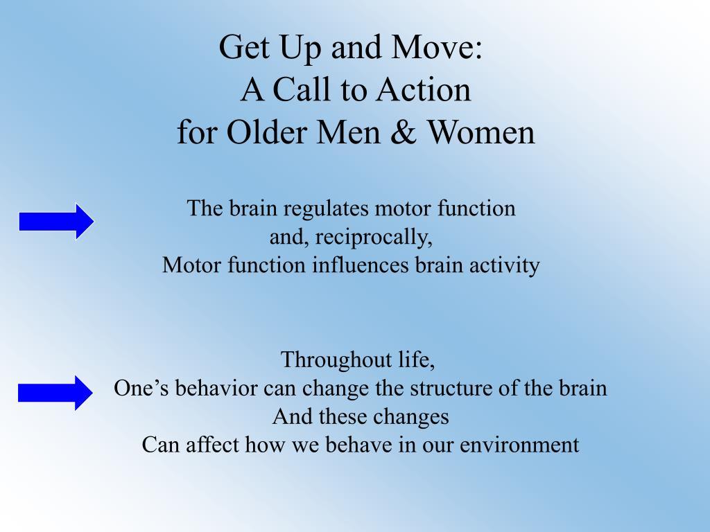 The brain regulates motor function