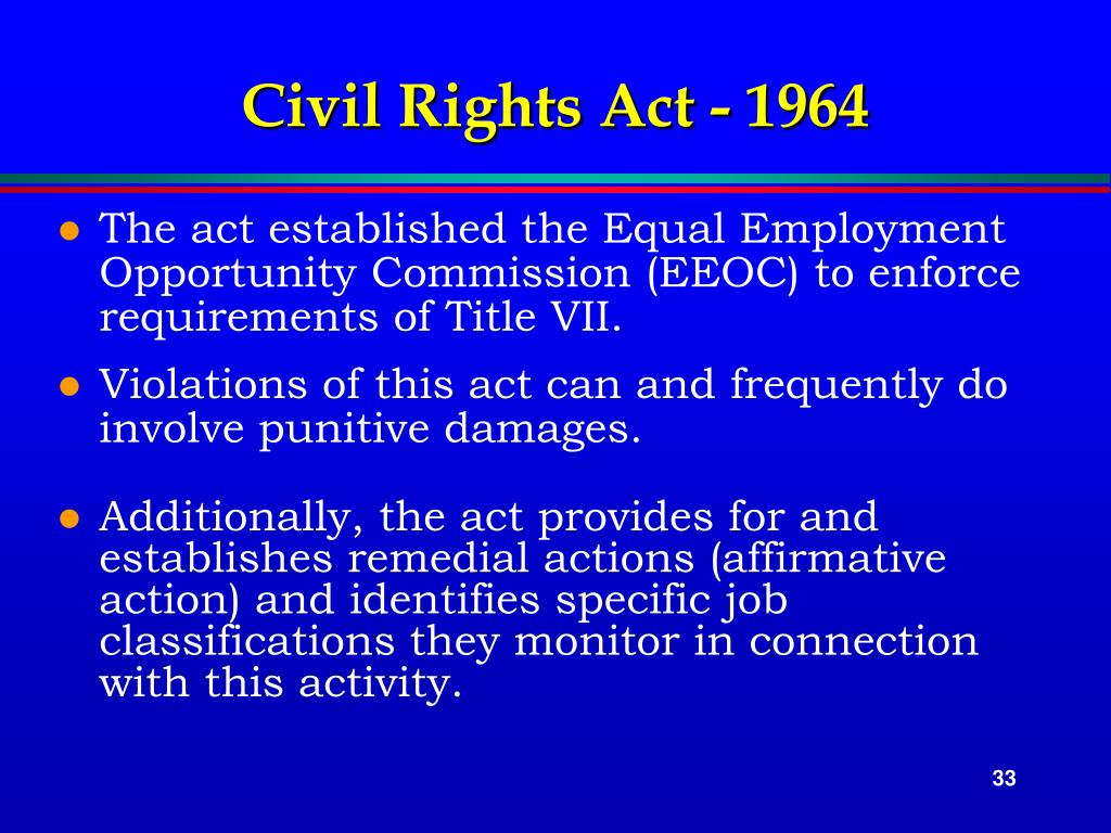 Civil Rights Act - 1964
