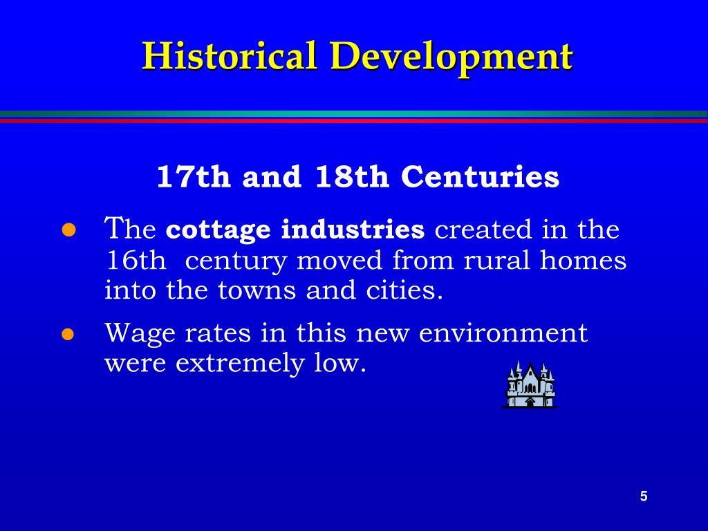 Historical Development