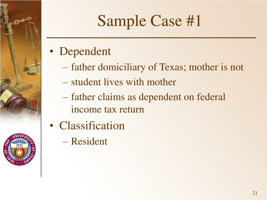 Sample Case #1