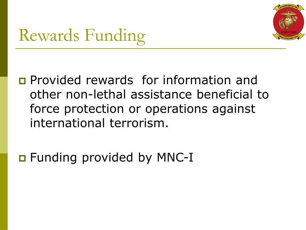 Rewards Funding