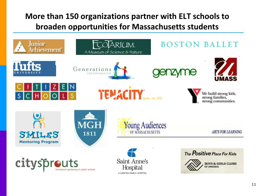 More than 150 organizations partner with ELT schools to broaden opportunities for Massachusetts students