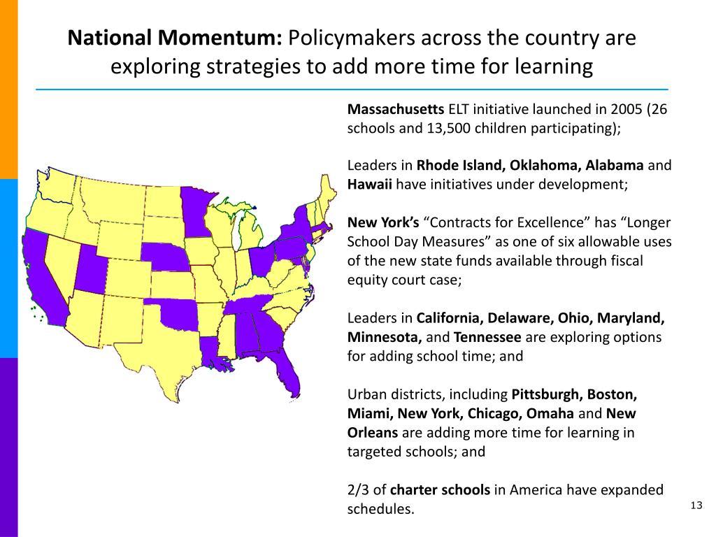 National Momentum: