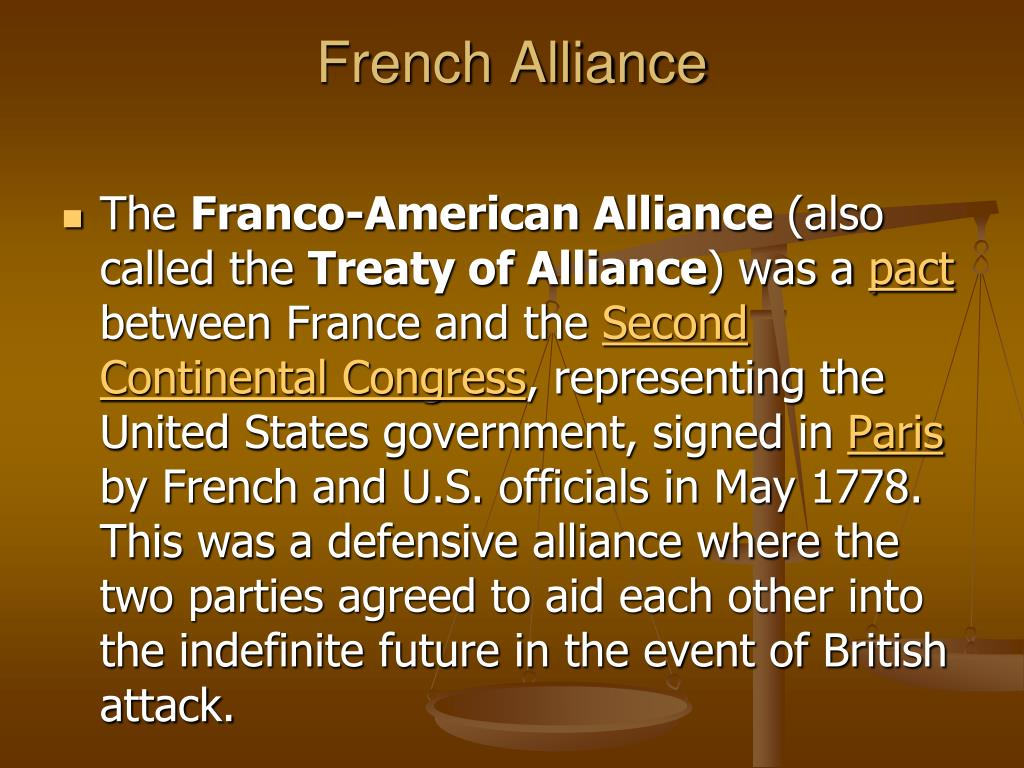 French Alliance