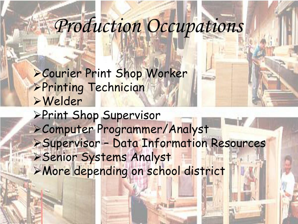 Production Occupations