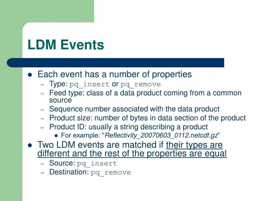 LDM Events