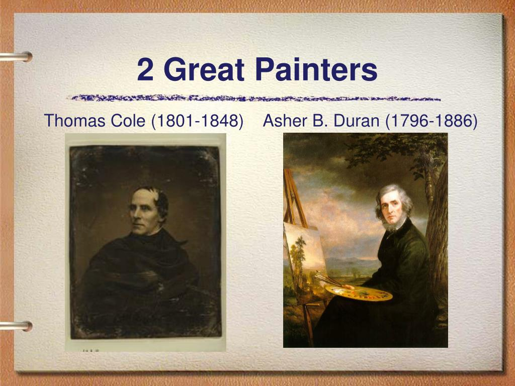 2 Great Painters