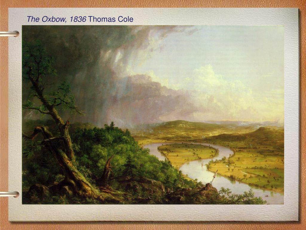 The Oxbow, 1836