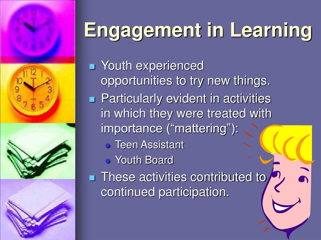 Engagement in Learning