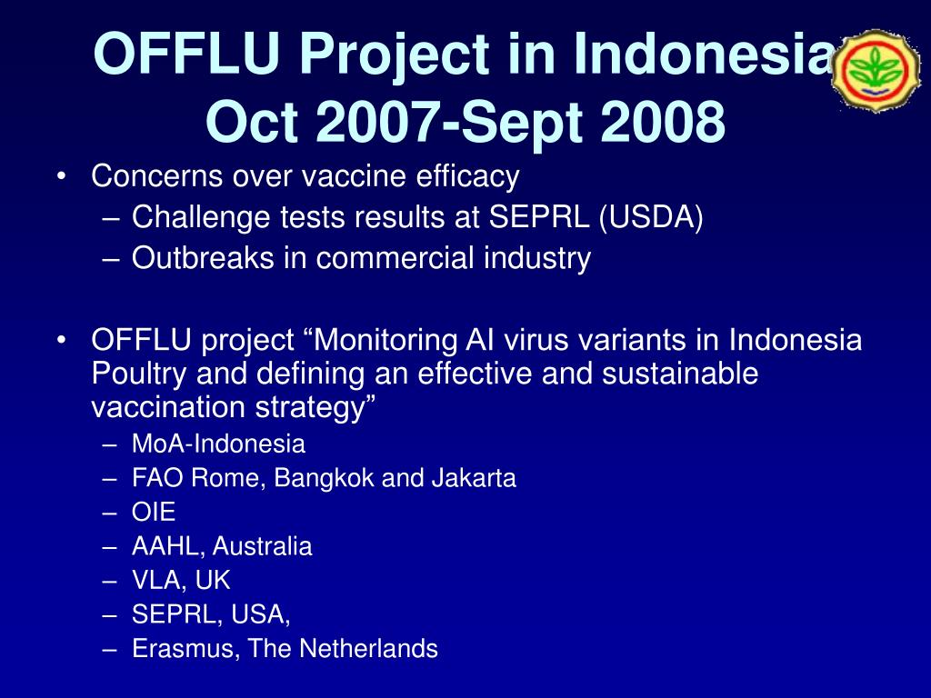OFFLU Project in Indonesia