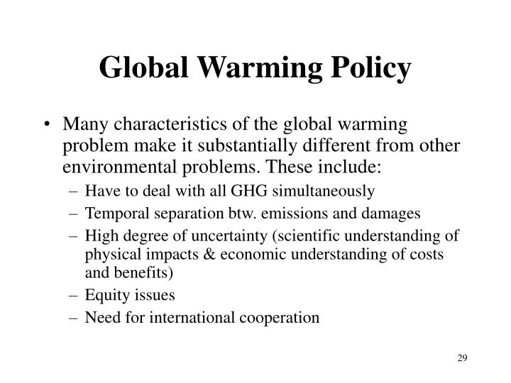 Global Warming Policy
