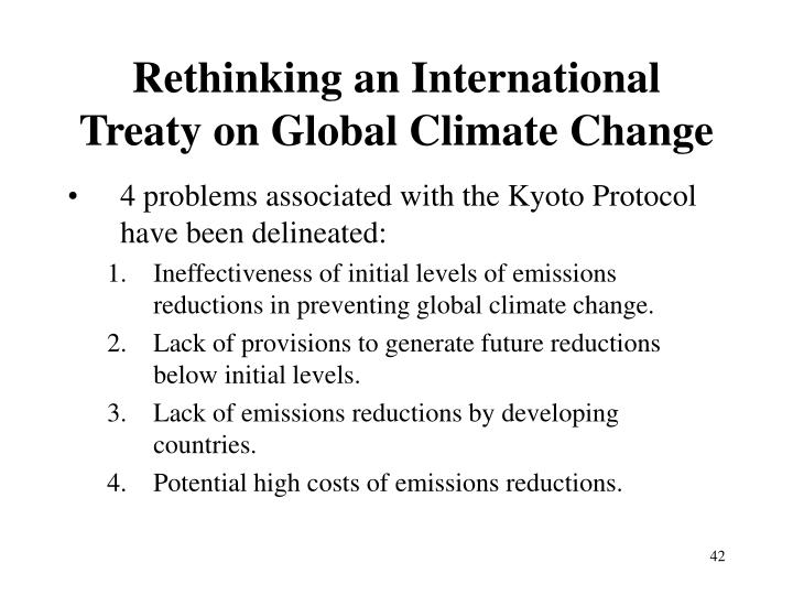 Rethinking an International Treaty on Global Climate Change