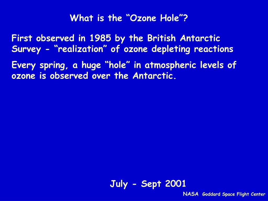 """What is the """"Ozone Hole""""?"""