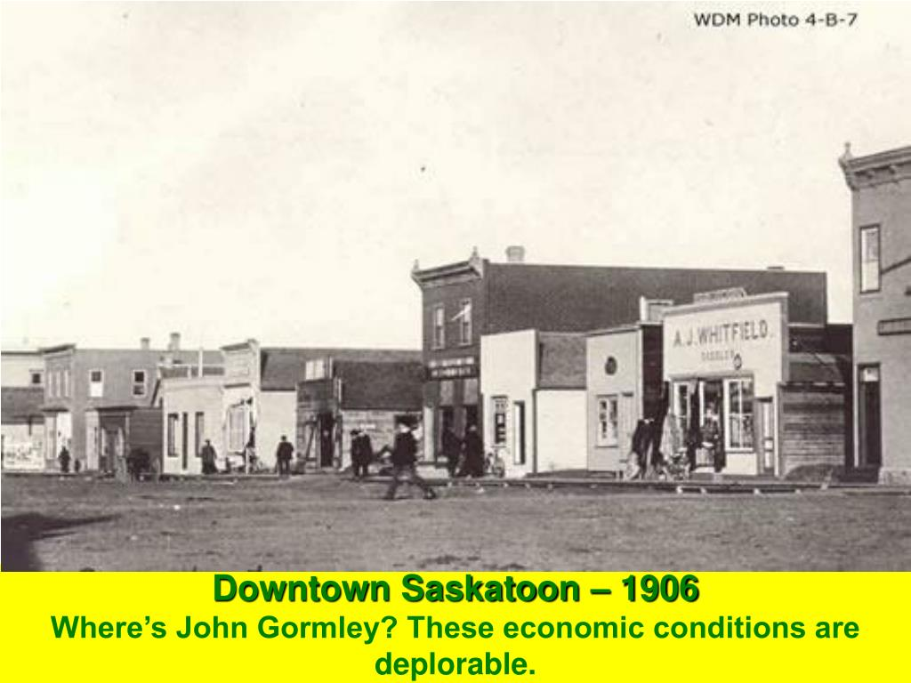 Downtown Saskatoon – 1906