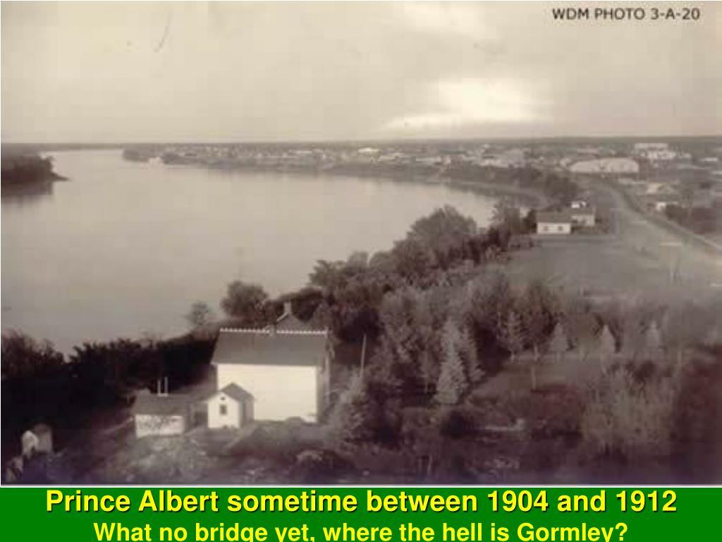 Prince Albert sometime between 1904 and 1912