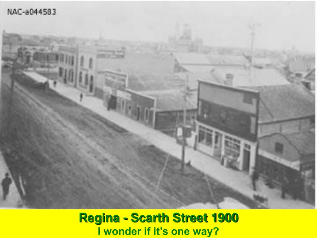 Regina - Scarth Street 1900