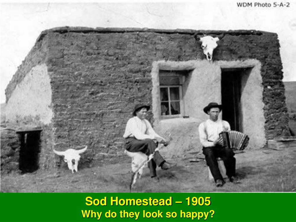 Sod Homestead – 1905