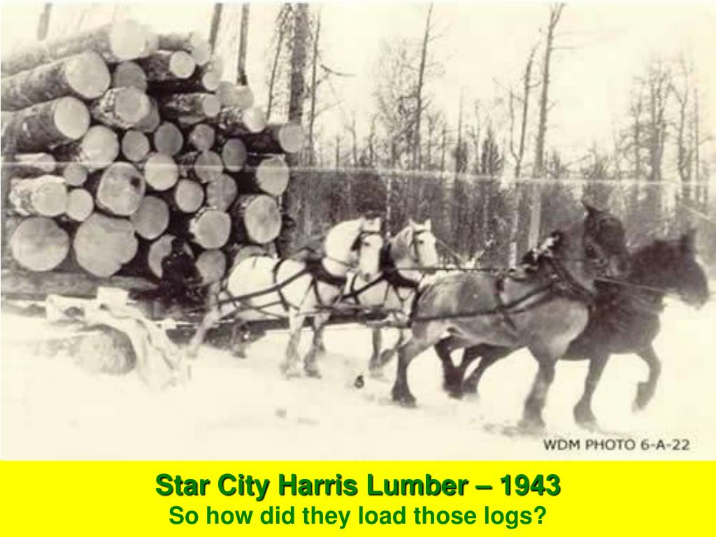 Star City Harris Lumber – 1943
