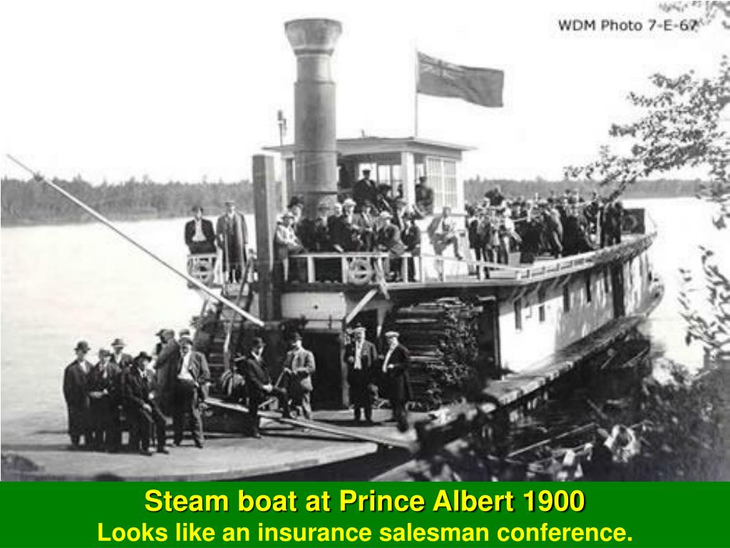 Steam boat at Prince Albert 1900