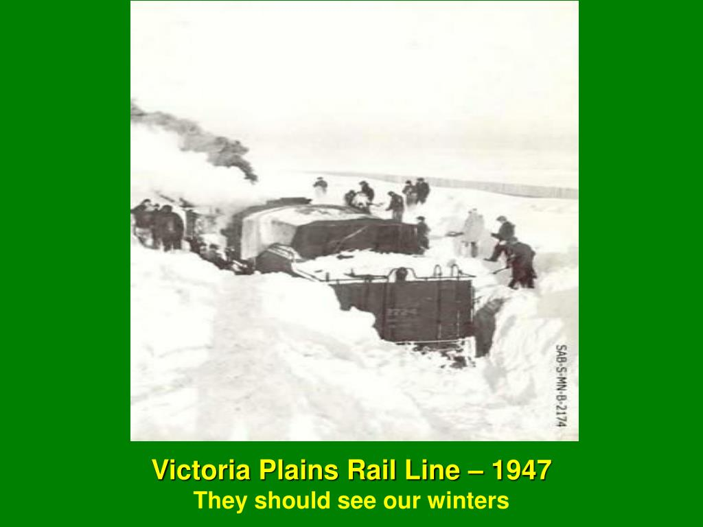 Victoria Plains Rail Line – 1947