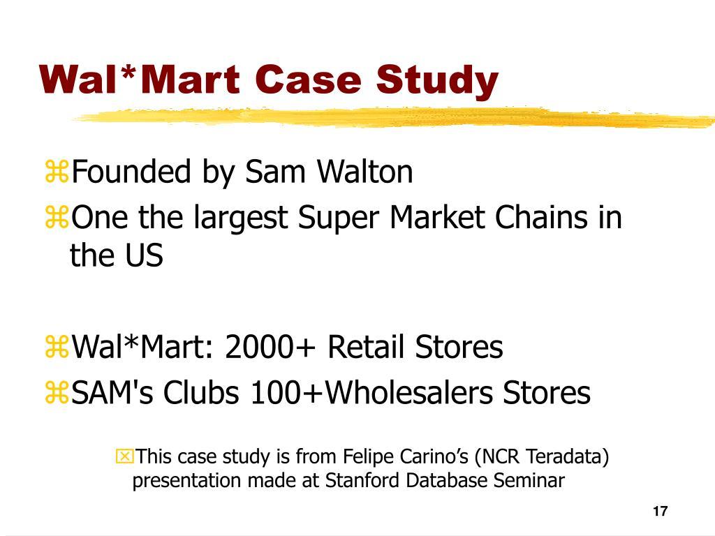 Wal*Mart Case Study