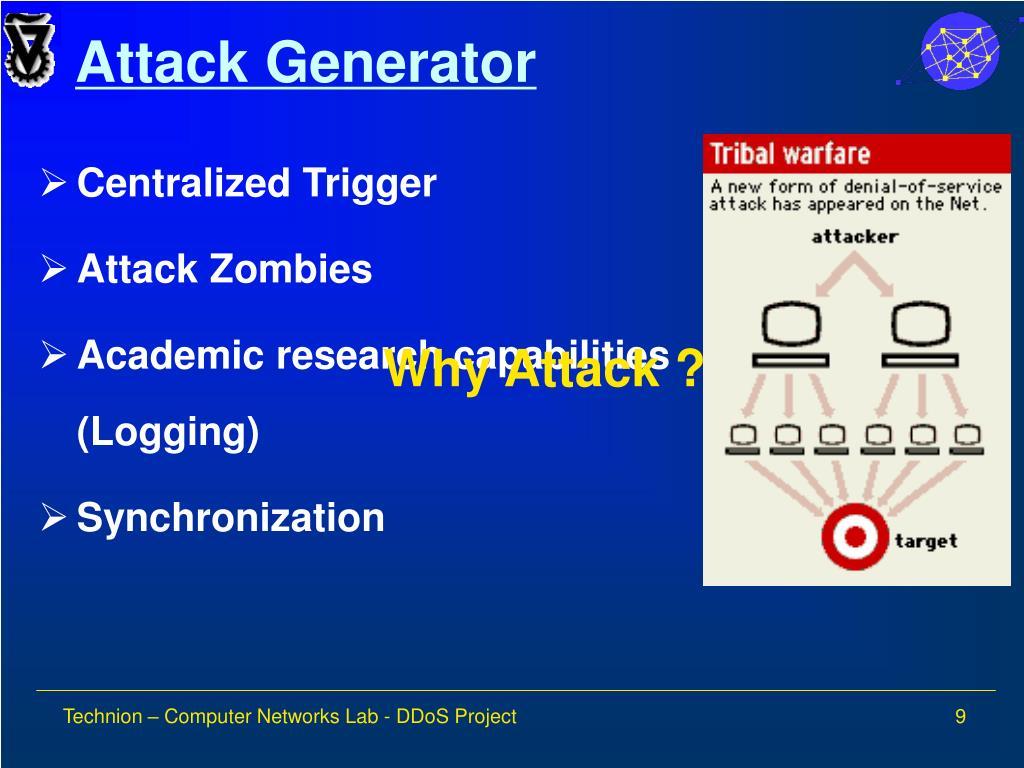 Attack Generator
